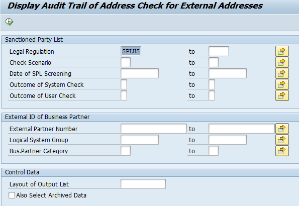 Audit Trail Tcode.PNG
