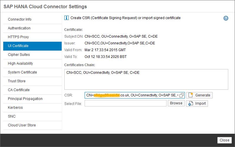 Secure your HANA Cloud Connector with OpenSSL certificates – Part 1 ...