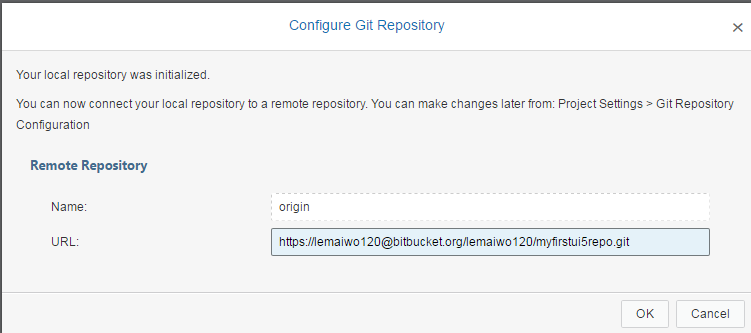 Push existing UI5 project to private bitbucket | SAP Blogs
