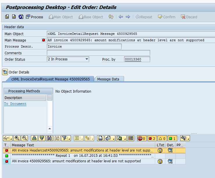 LL How To Handle Freight Condition From Ariba Into SAP SAP Blogs - Ariba invoice processing