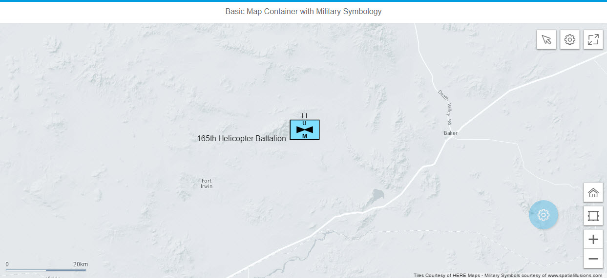 Adding Military Map Symbols To Your Sapui5 Applications With Spatial