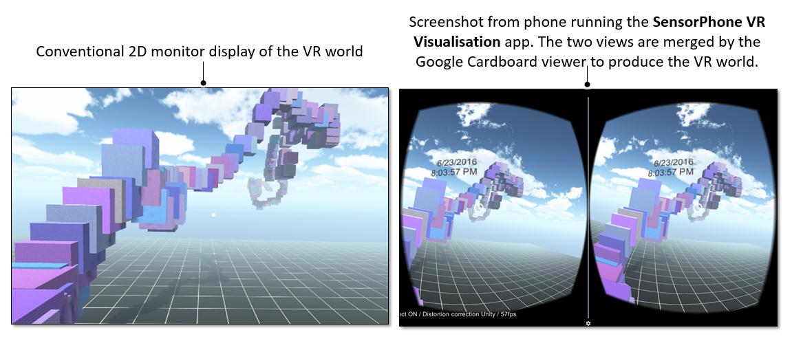 Visualising iPhone Sensor Data in Virtual Reality | SAP Blogs