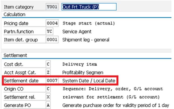 Fx options settlement date