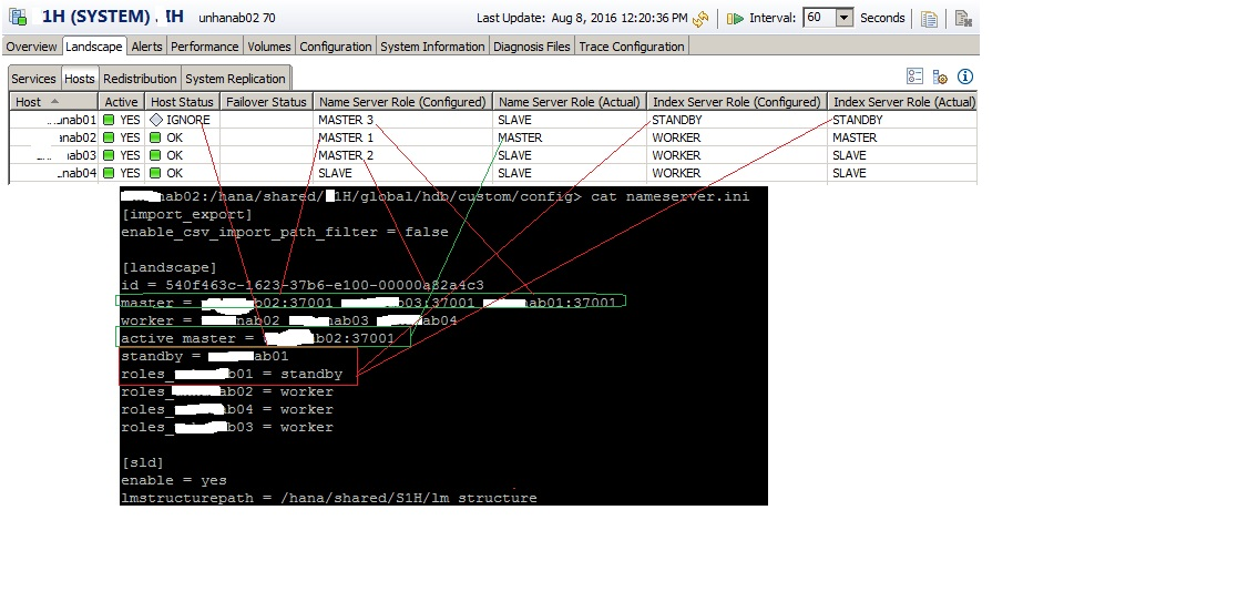 How to Define Role to different Server Nodes in Multi Node
