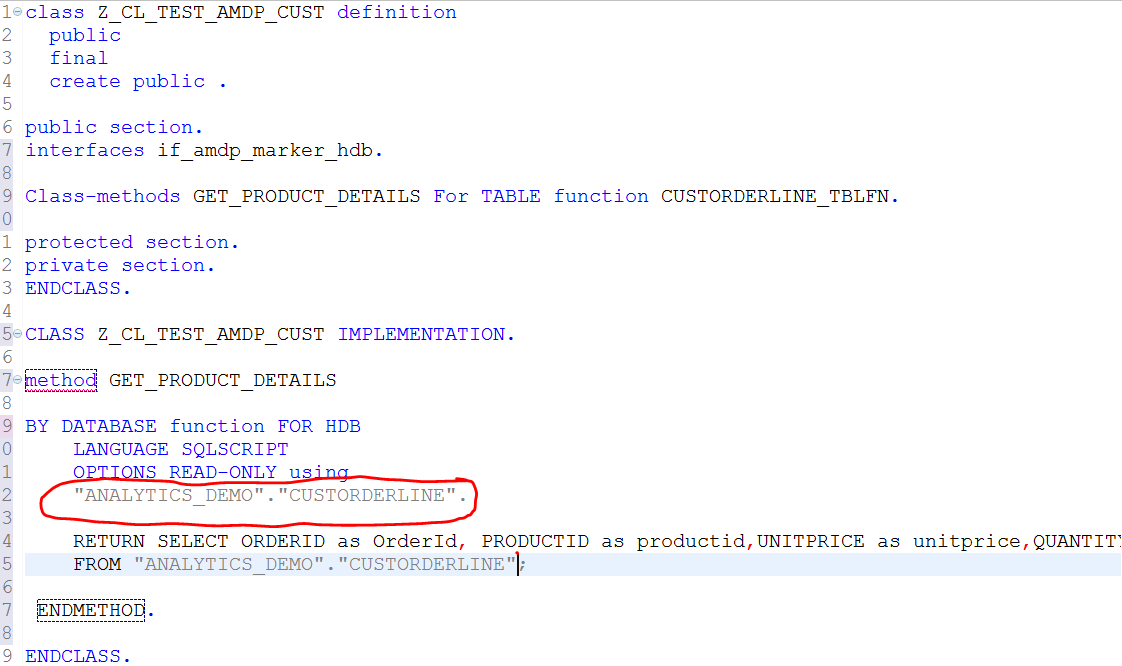 ABAP News for Release 7 50 – CDS Table Functions Implemented by AMDP