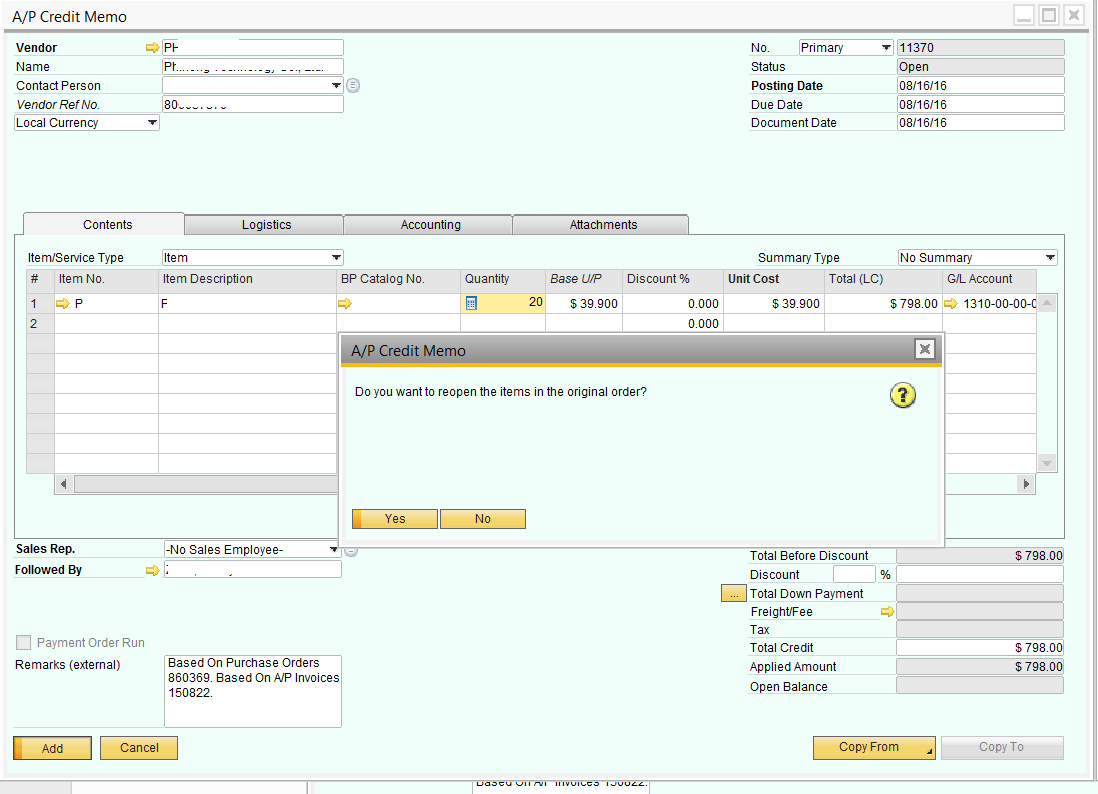SAPB1 881 new Reopen orders when Return or CreditMemos2.png