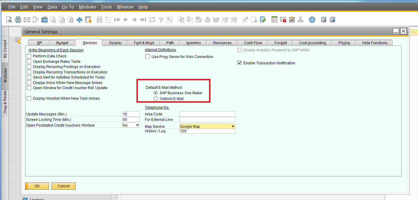 SAPB1 91 new Default Email method to Outlook or SBO.png