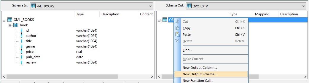 how to load the xml script into single column sap blogs