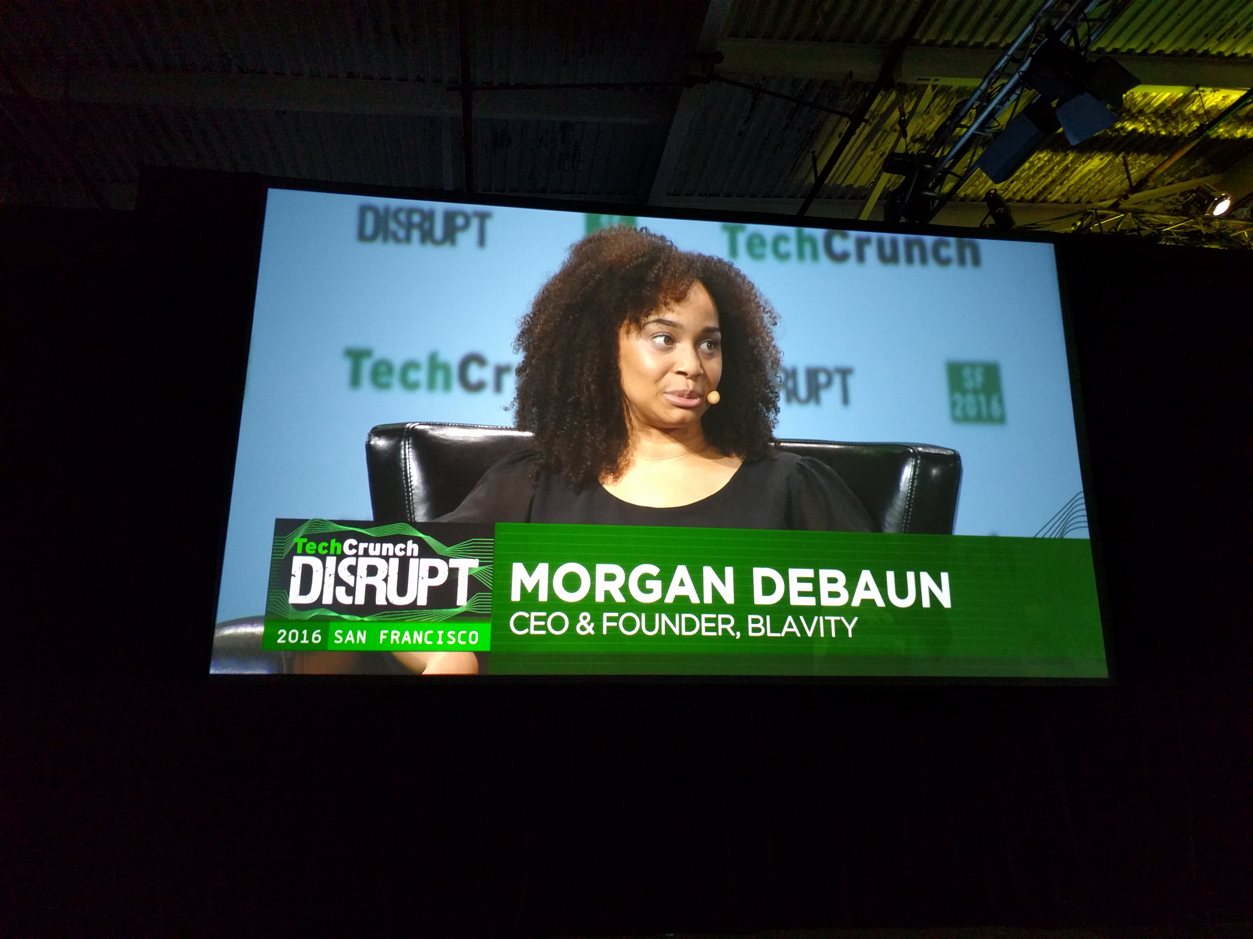 Good News at TechCrunch Disrupt: Diversity Arrives! (Just in