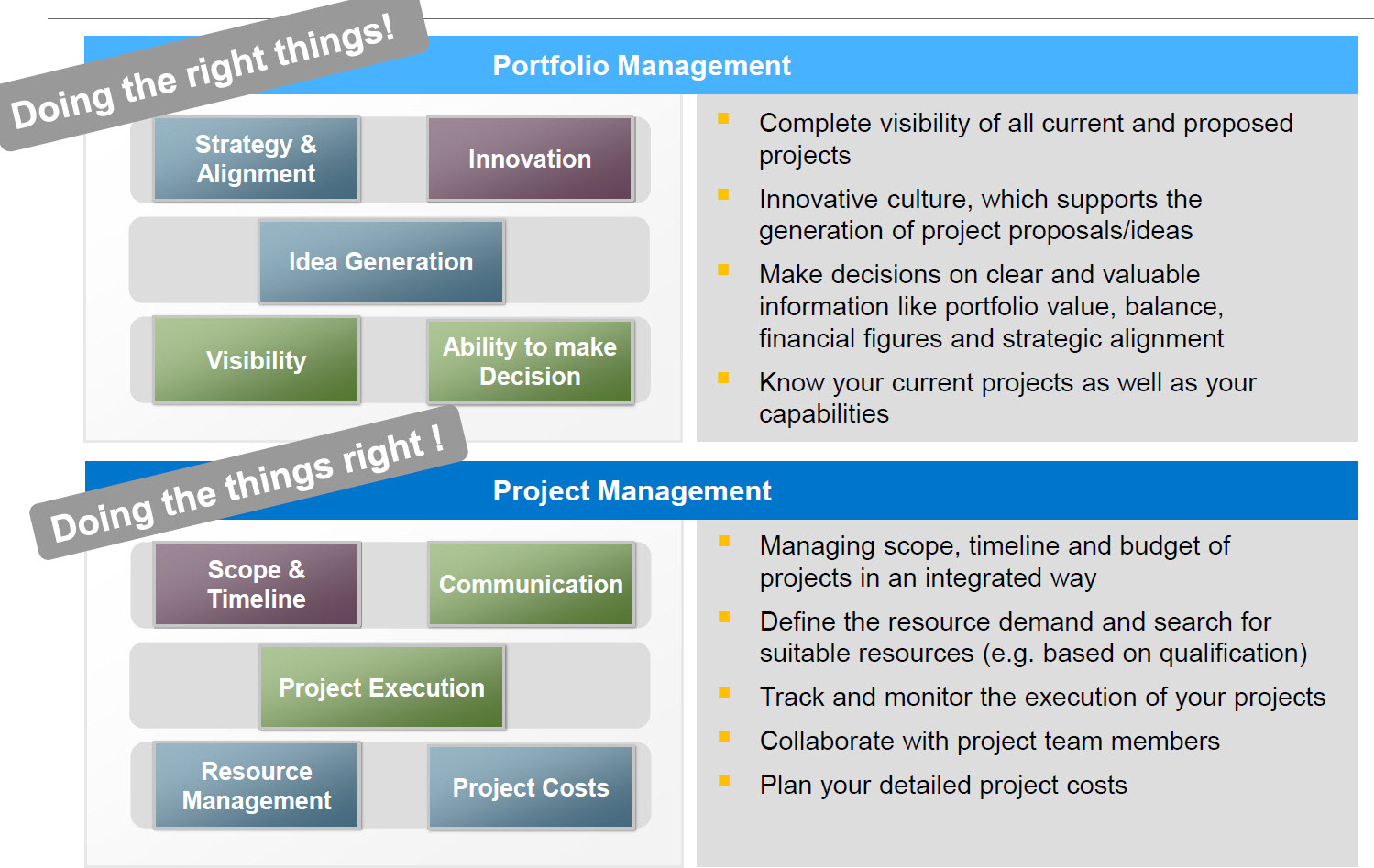 Project Management: Project Management In A Nutshell For SAP Solution Manager