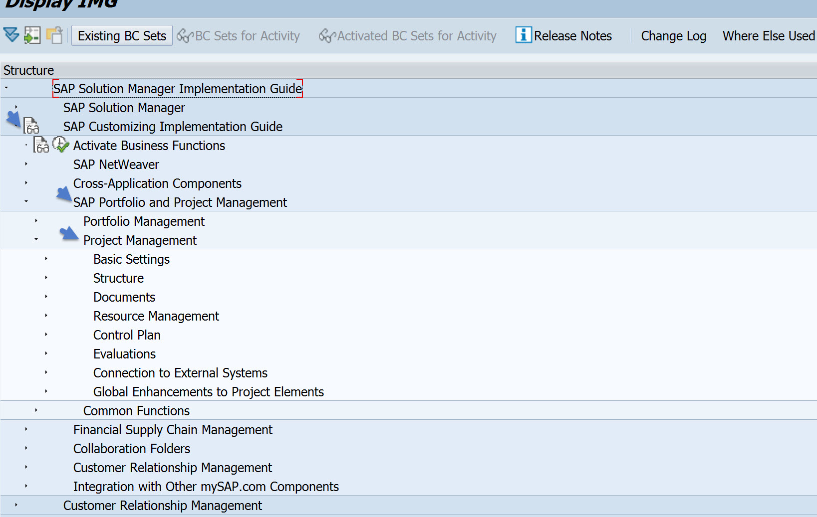project management in a nutshell for sap solution manager 7 2 the required roles and authorizations are for the standard functionality can be maintained in the transaction solman setup for project management