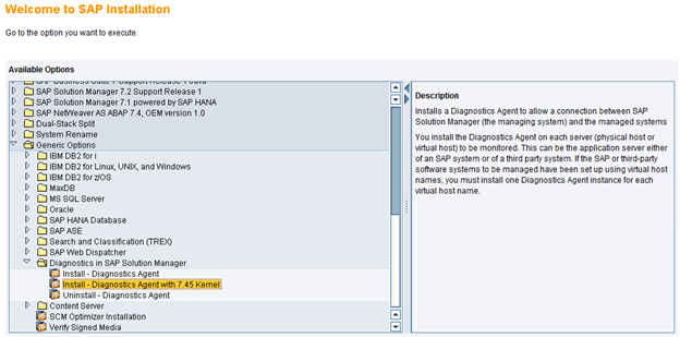 Part 8 : SAP Solution Manager 7.2 SR1 (+ SPS03) : Install the ...