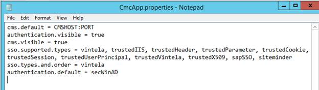 SSO Configuration with Active Directory SAP Business Objects