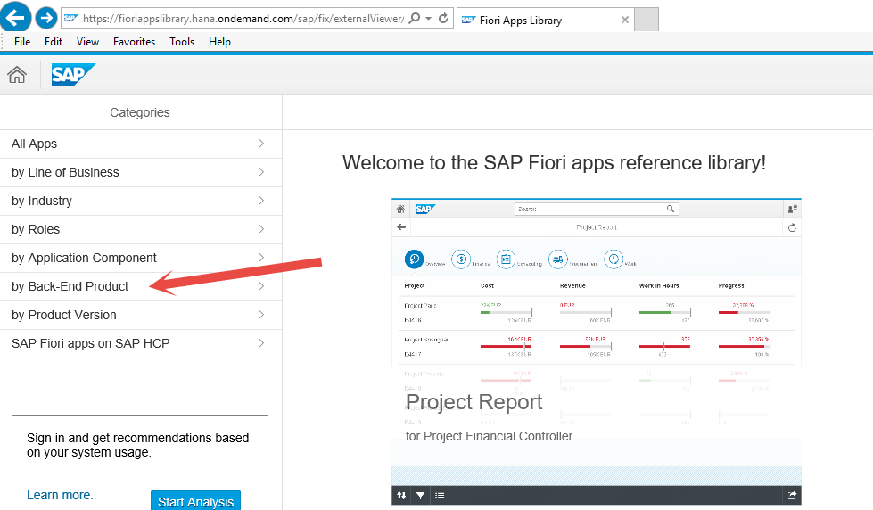 "How To Explore ""Fiori Apps Reference Library"" For SAP S/4"