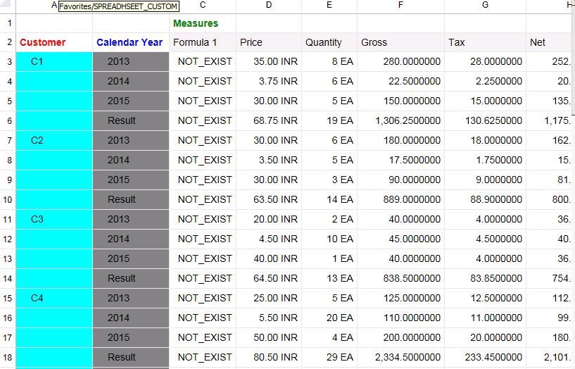 Customize your Spreadsheet using CSS   SAP Blogs
