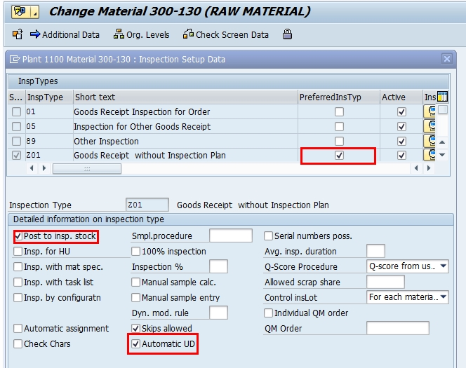 How To Create Customize Inspection Type Sap Blogs