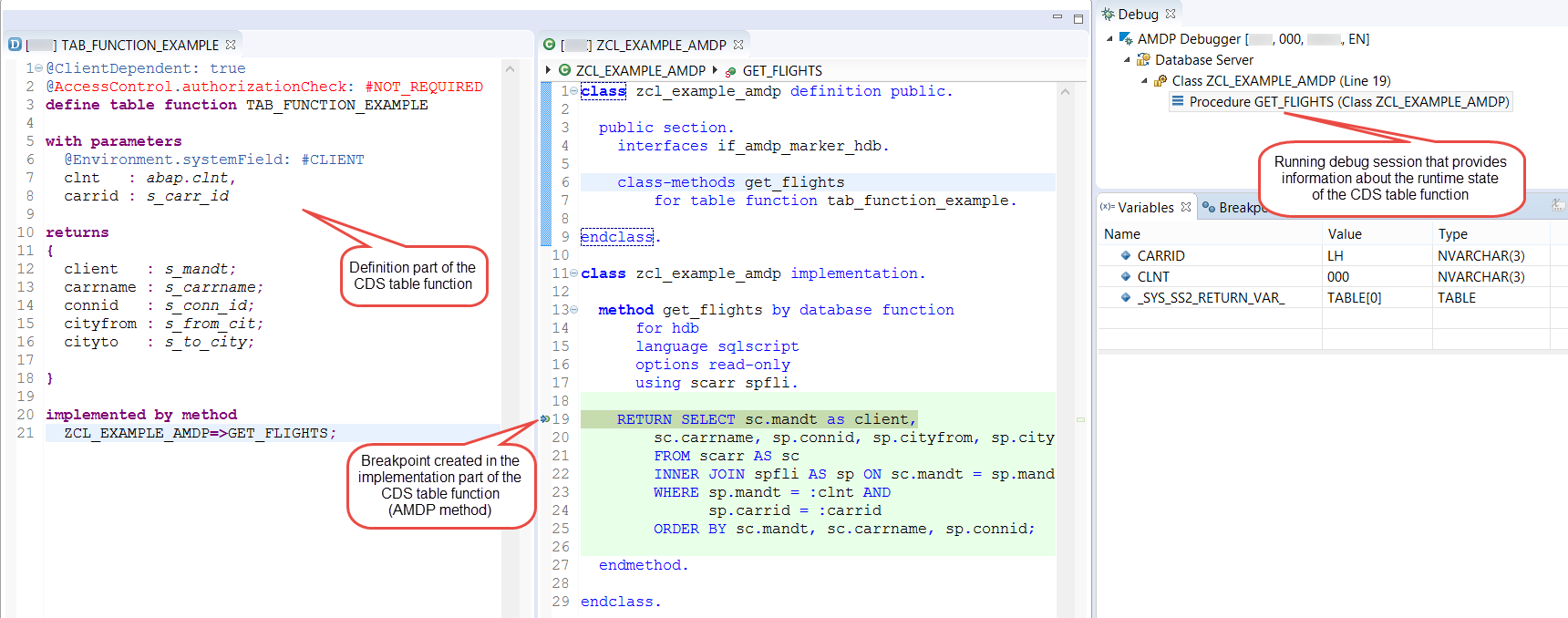 Debugging CDS Table Functions | SAP Blogs