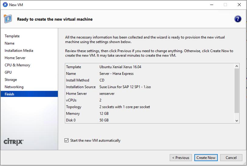 Setup SUSE 12 SP1 for SAP HANA Express Edition | SAP Blogs