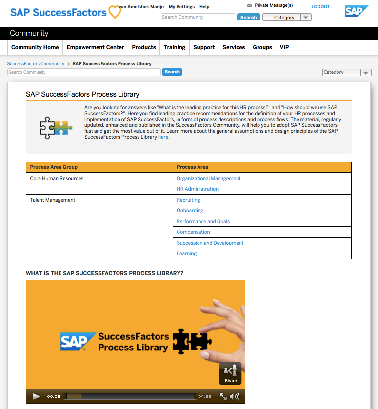 Accelerate the adoption of successfactors with sap's leading.