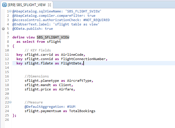 How to create ABAP CDS view and OData with SAP Annotations | SAP Blogs