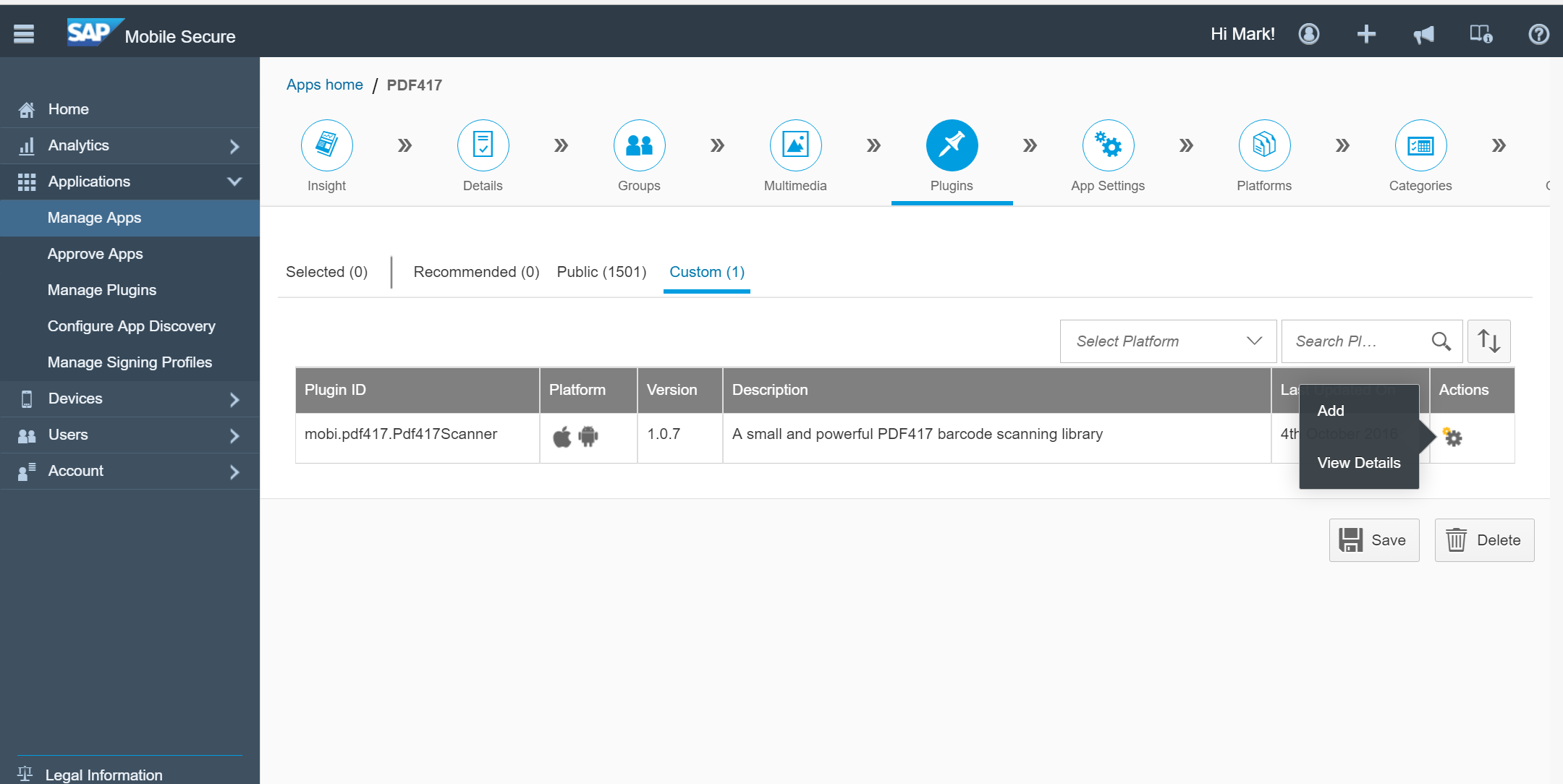 Add PDF417 Barcode Scanning to your Fiori Application using