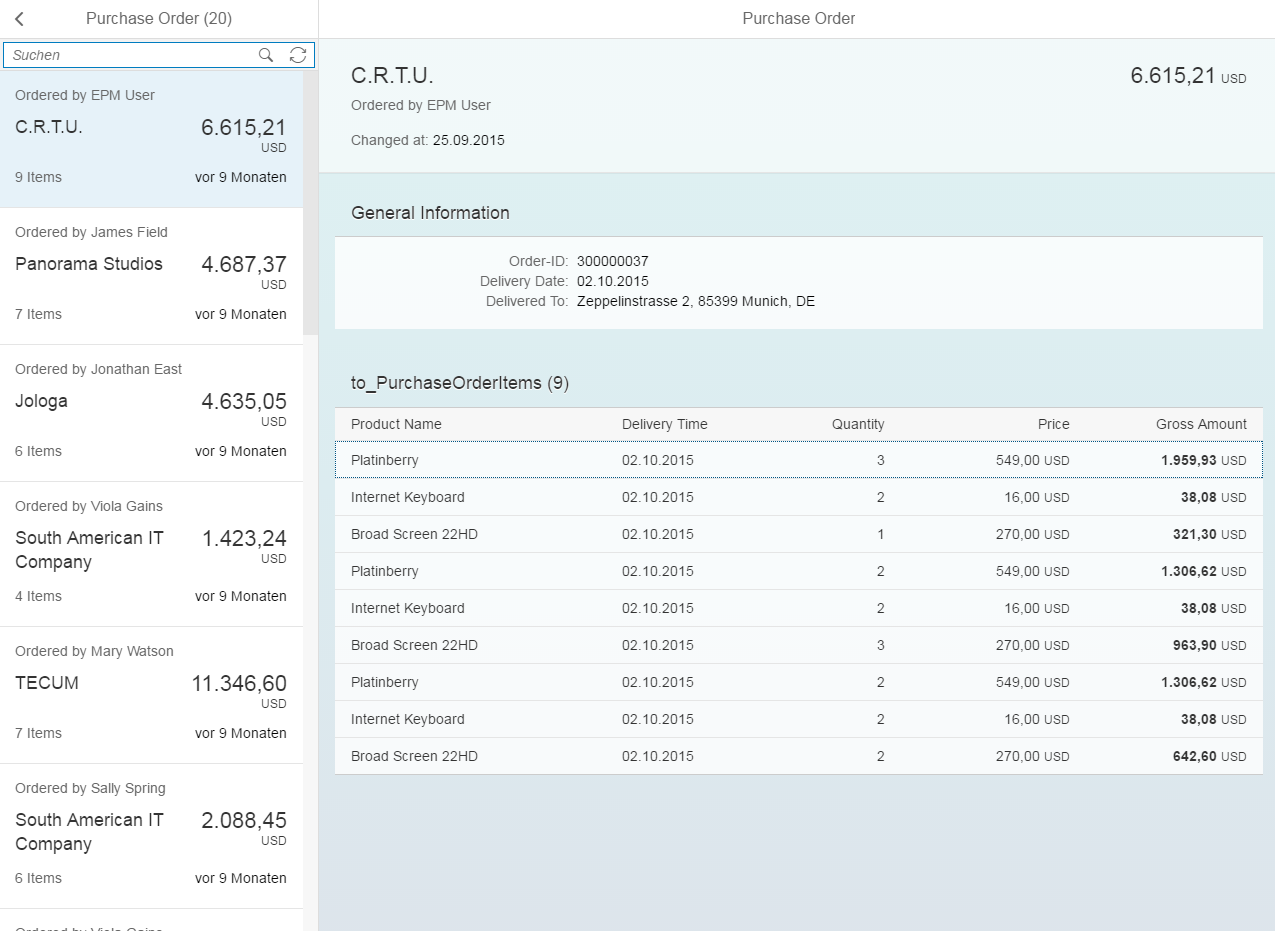 tutorial build your own sap fiori approve purchase order app part