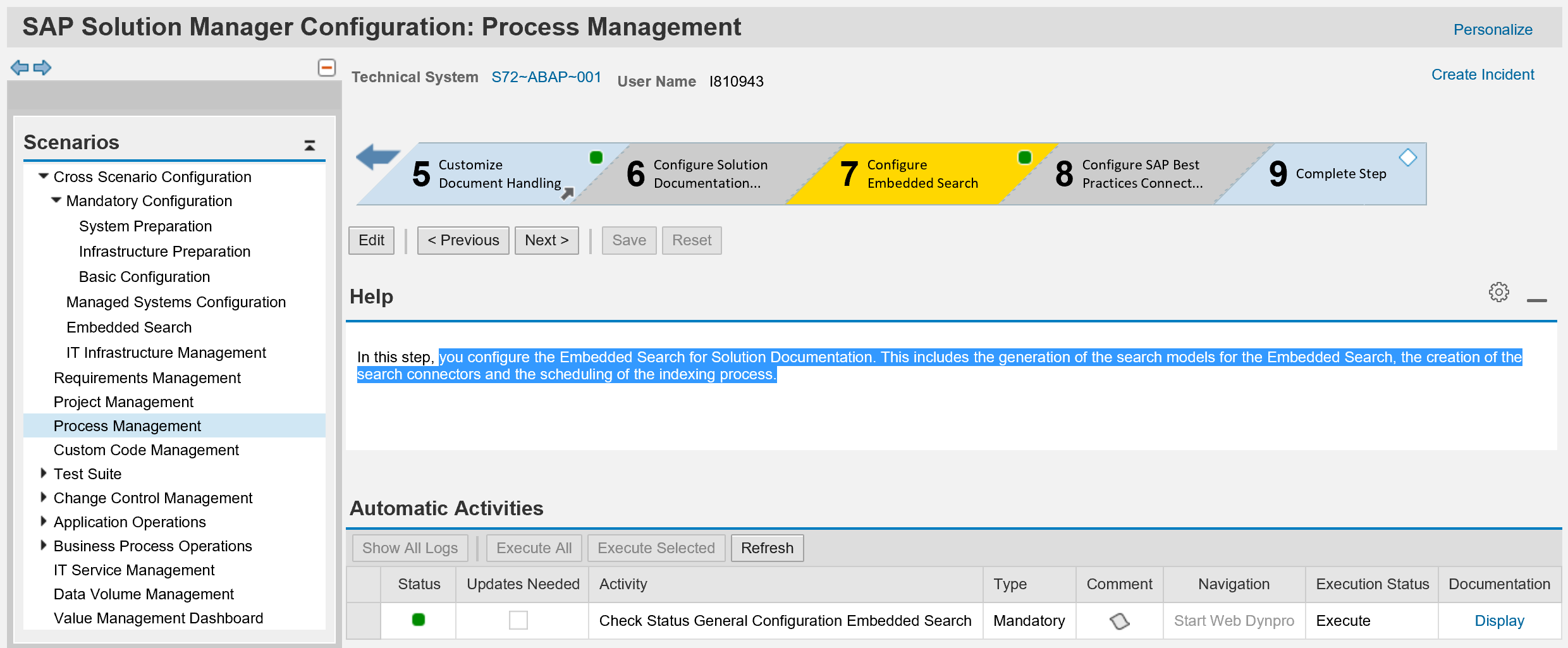 configure embedded search with trex for solution documentation in rh blogs sap com On Hana SAP Solution Manager On Hana SAP Solution Manager