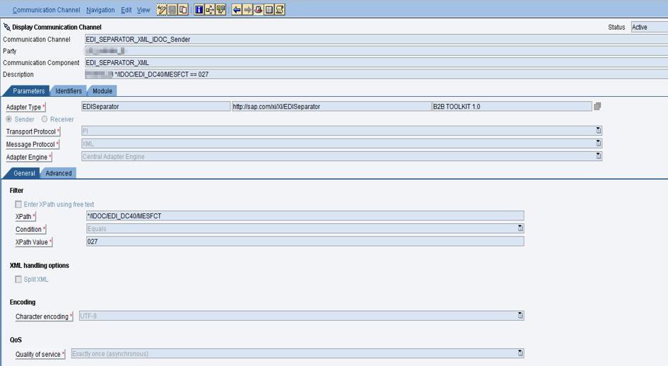 edi partner oriented architecture use case with edi separator xml