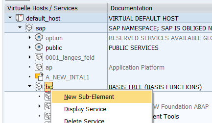 Creating a Class Handler for SICF Service (with code example) | SAP