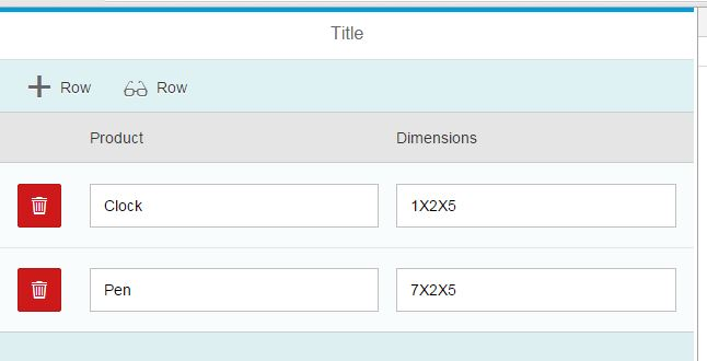 Add/Remove Rows – sap m Table Quick Reference | SAP Blogs