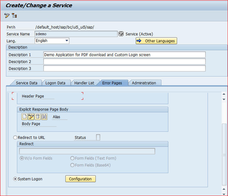 SAPUI5 Application with Custom login and logout option - SAP