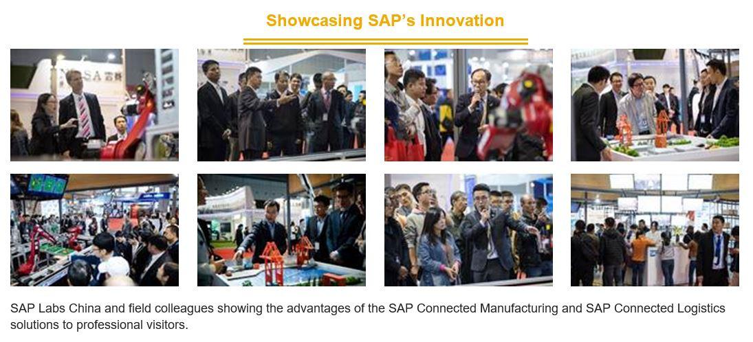 sap labs china_SAP UA member school visit SAP booth at CIIF 2016 | SAP Blogs