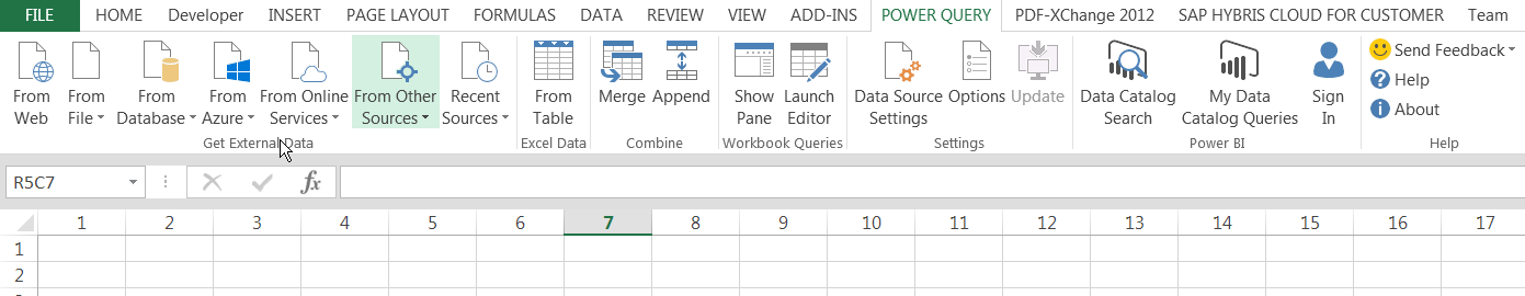 Leverage the power of ODATA with Excel | SAP Blogs