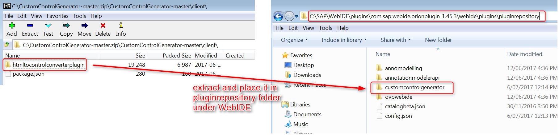 custom ui5 control generator sap web ide plugin sap blogs