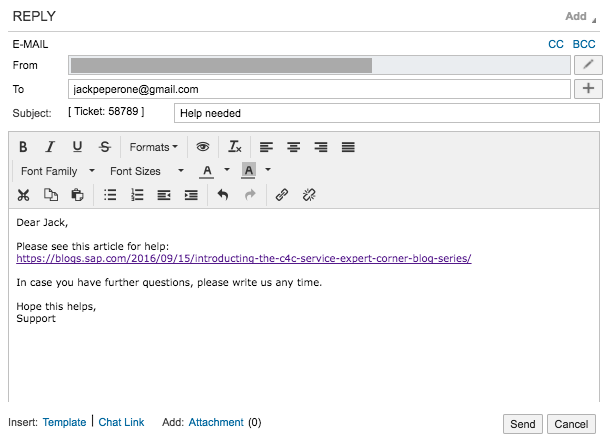 Email Response Management in C4C – Part 3 – Cloud for Service Expert ...