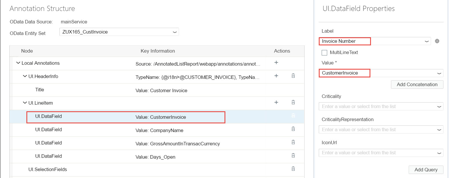 Fiori Elements – How to Develop a List Report – Using Local