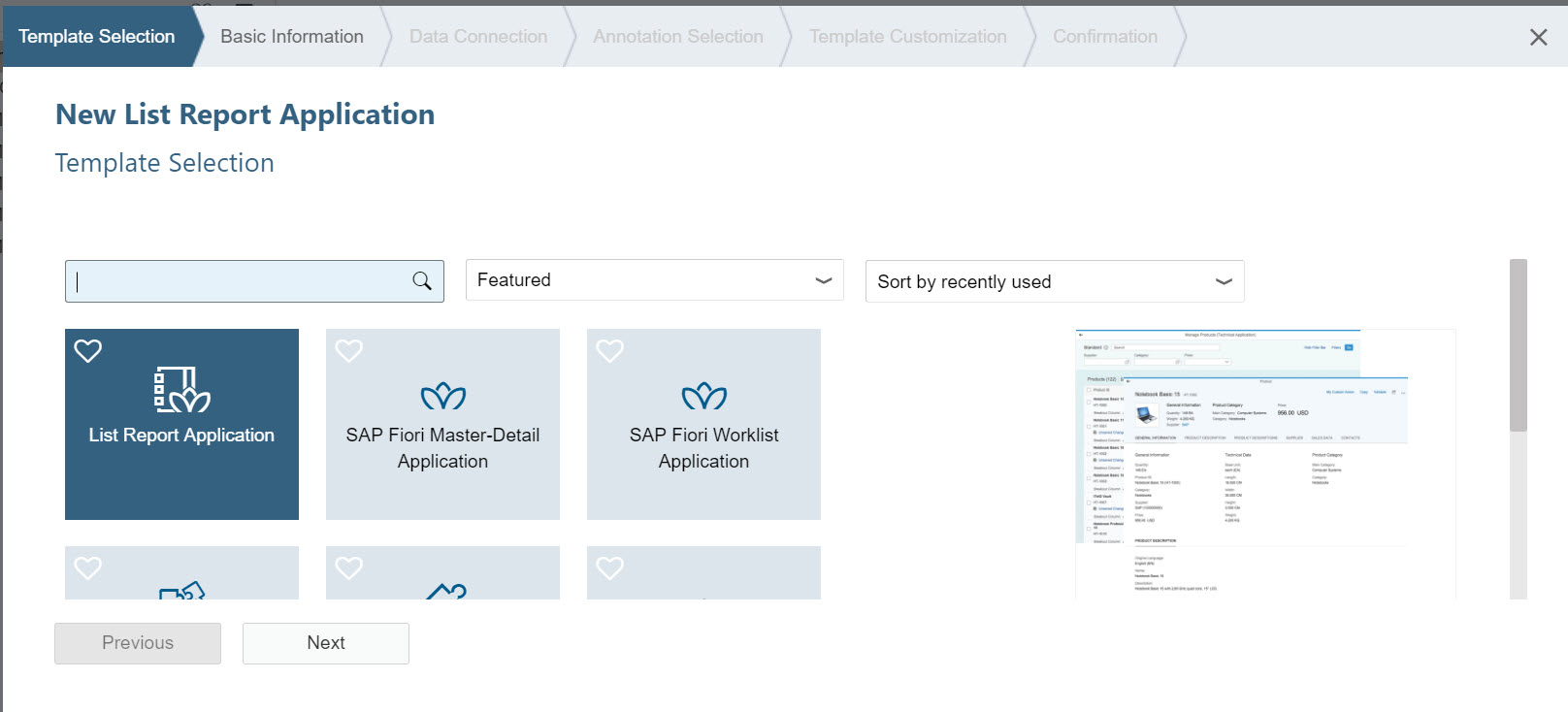 Fiori Elements – How to develop a List Report – Basic Approach - SAP