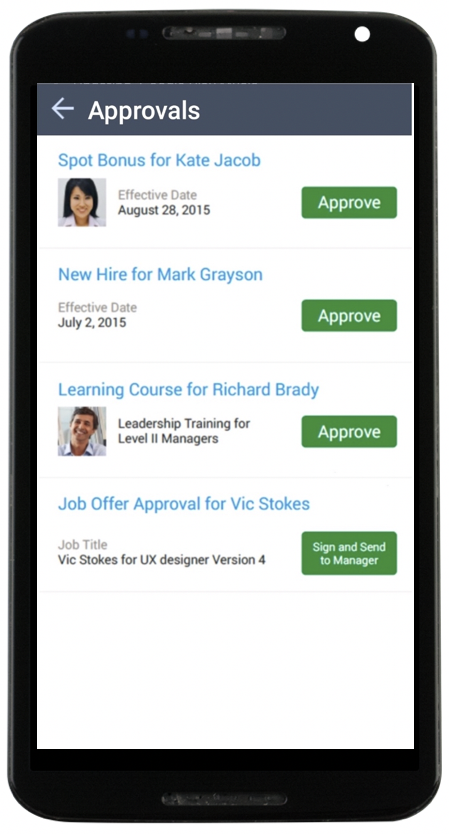 Sap Successfactors User Experience And Mobile Updates In