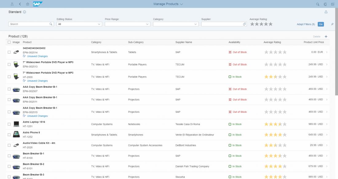 Fiori Elements Even List Reports Need Design Sap Blogs