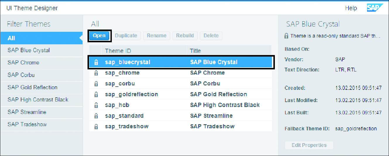 Customizing SAP Fiori Launchpad using the UI Theme Designer
