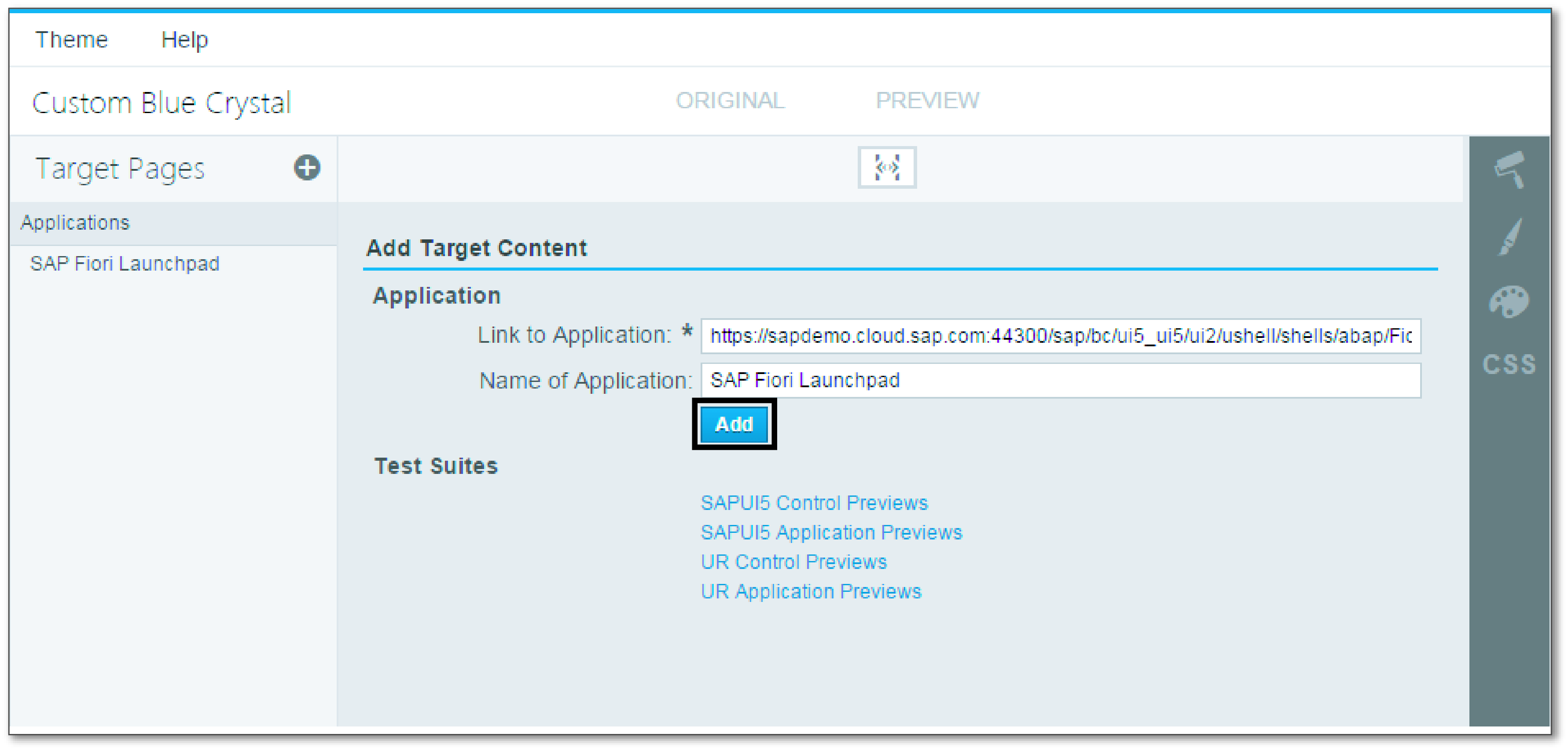 Customizing SAP Fiori Launchpad using the UI Theme Designer | SAP Blogs