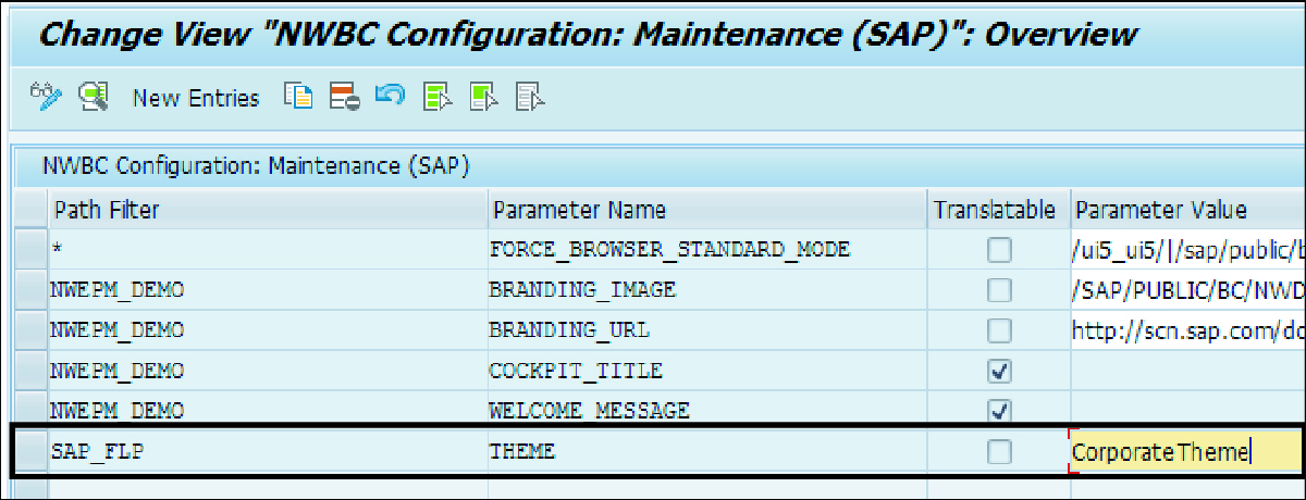 Customizing SAP Fiori Launchpad using the UI Theme Designer