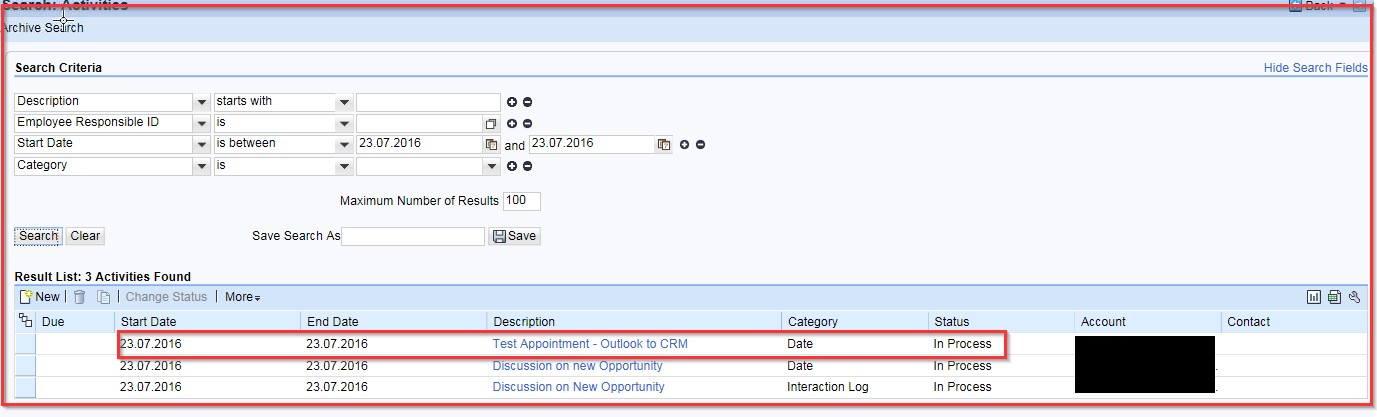 SAP CRM Server Based Groupware Integration with MS Outlook | SAP Blogs