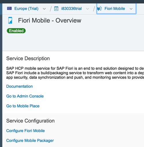 How to mobilize your HTML5/SAPUI5 app with Fiori Mobile