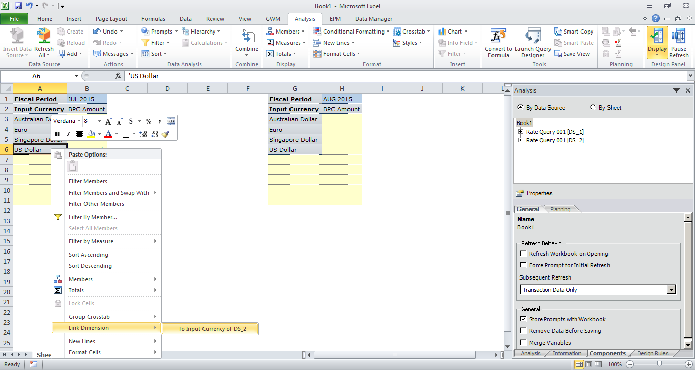 Workbooks shared workbook excel : Analysis for Office 2.4 Enhancements – Special focus on Planning ...