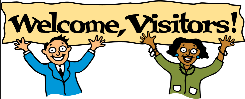 visitors visitor welcome welcoming clipart pattern sign patterns abap classroom visiting sap blogs simply ruby must medium quiet years information