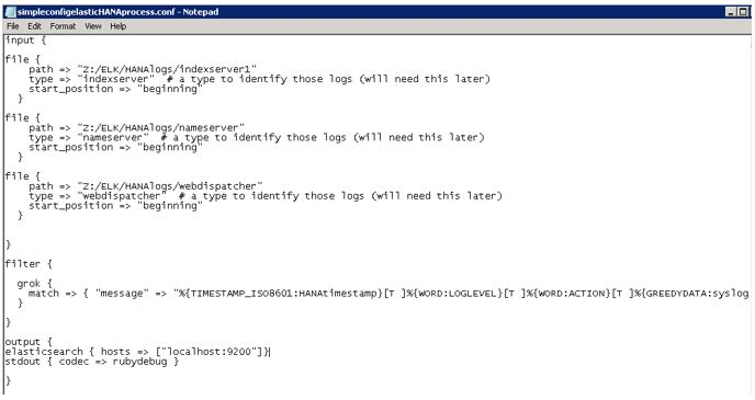Visualize SAP HANA logs in real time with Open Stack IT Operation