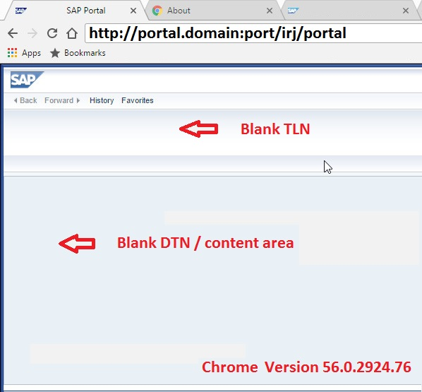 Portal is not loaded on Chrome 56 | SAP Blogs