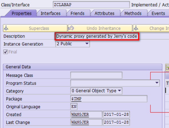 Create dynamic proxy persistently in Java and ABAP | SAP Blogs