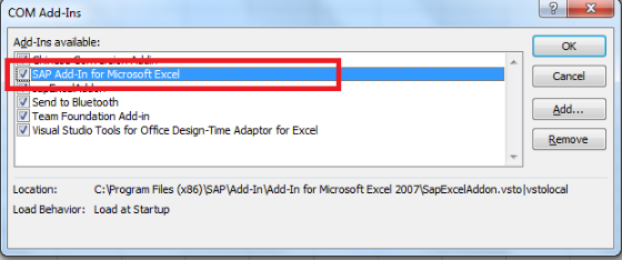 FAQs – SAP Excel Add-in for C4C/ByD | SAP Blogs